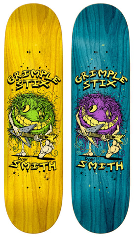Anti Hero Grimple Stix Smith Pro Family Band Deck 8.5""