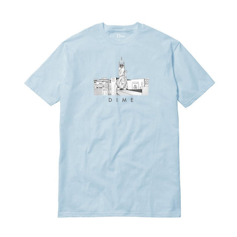 Dime Joe Valdez China Banks Tee / Light Blue