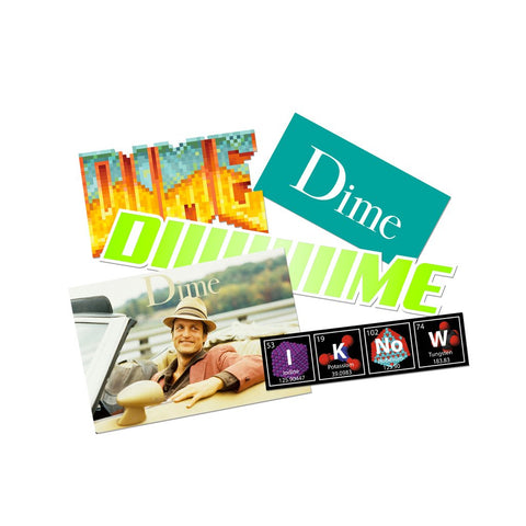 Dime Vinyl Sticker Pack