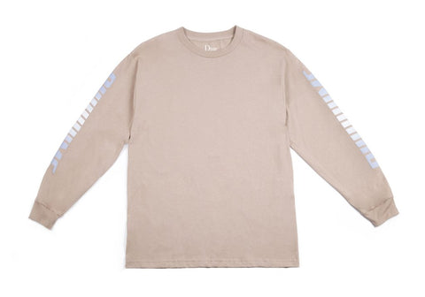 Dime Screaming Long Sleeve Tee / Sand
