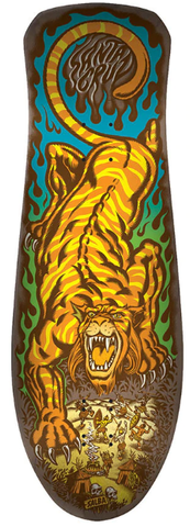 Santa Cruz Salba Tiger Reissue Deck 10.3""
