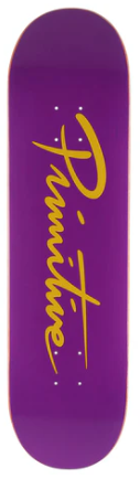 Primitive Nuevo Script Core Purple Deck 8.25""