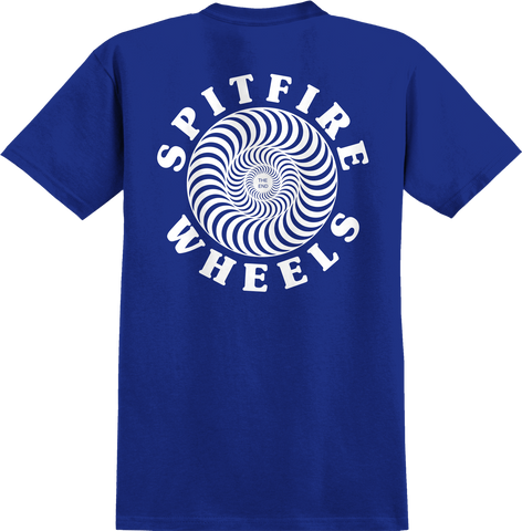 Spitfire OG Classic Youth Tee / Royal Blue