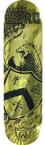 Zero Thomas Pro Whosoevers Gold Deck 8""
