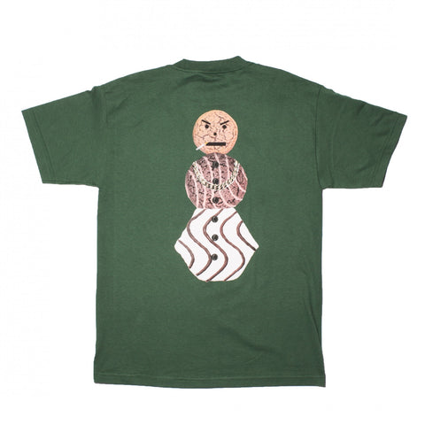 Quartersnacks Snackman Tee / Forest Green