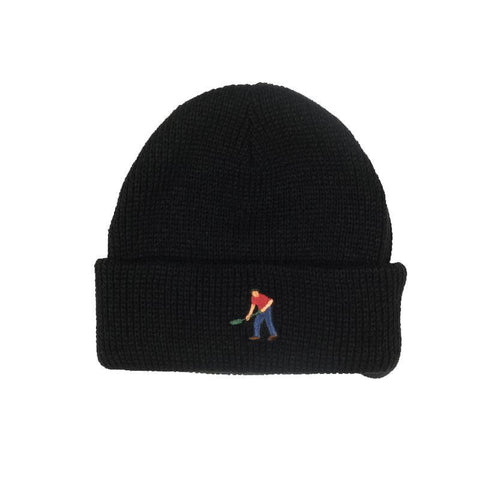 Passport Full Time Embroidery Beanie / Black