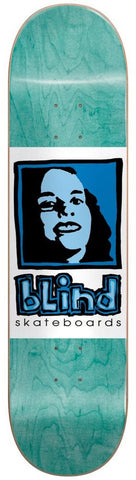 Blind Girl Teal Deck 7.75""
