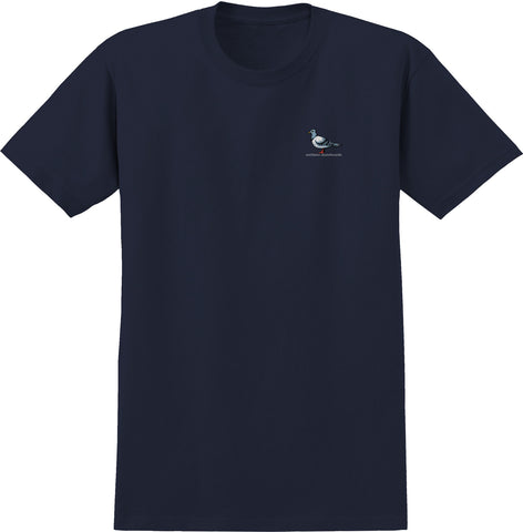 Anti Hero Lil Pigeon Tee / Navy