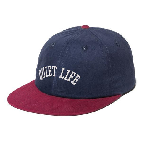 The Quiet Life Arch Polo Hat / Navy / Red