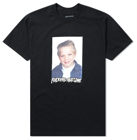 Fucking Awesome Vincent Class Photo Tee / Black