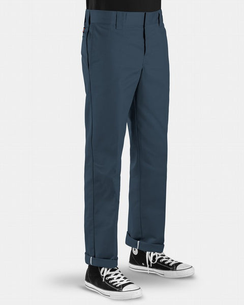 Dickies 873 Slim Straight Fit Work Pants / Airforce Blue