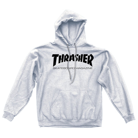 Thrasher Skate Mag Hoodie / Light Grey