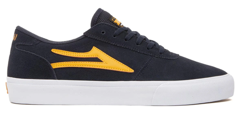 Lakai Manchester / Navy / Orange Suede