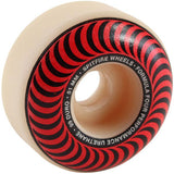 Spitfire F4 99 Duro Classic Red Wheels 51mm