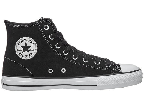 CONS CTAS Pro Hi (New Zoom Air Version) / Black Suede / White