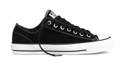 CONS CTAS Pro Low / Black Suede / White