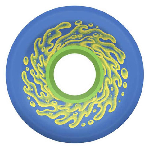 Santa Cruz Slime Balls Neon Blue 78a Wheels 66mm