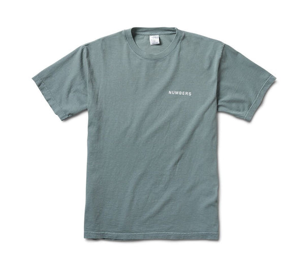Numbers Edition 12:45 Angel Tee / Sage