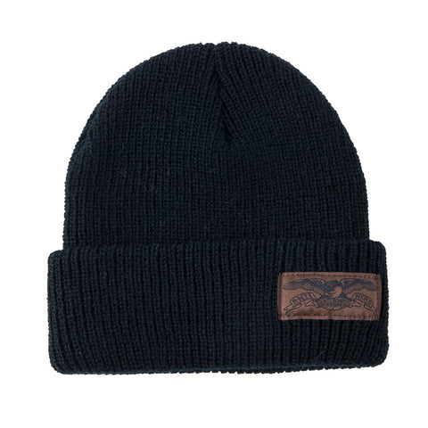 Anti Hero Basic Eagle Label Cuff Beanie / Black