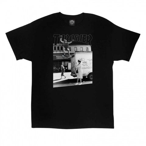 Thrasher Hackett Tee / Black
