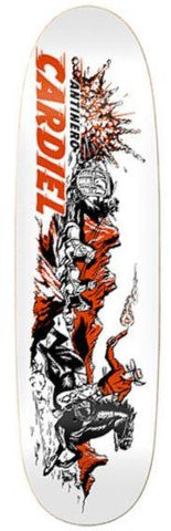 Anti Hero Cardiel Getaway Sticks Shaped Deck 9.18""