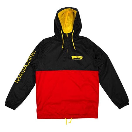 Thrasher Mag Logo Anarok / Black / Red