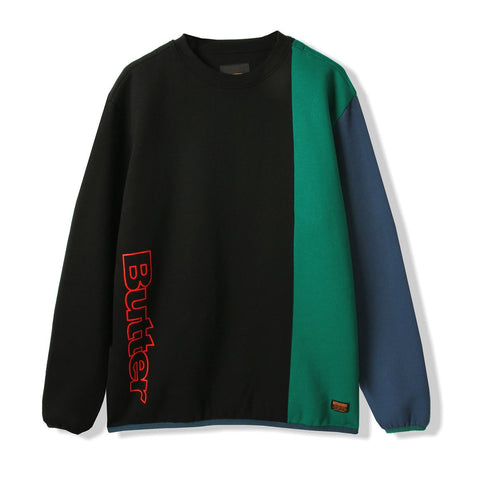 Butter Goods Tres Crew / Black / Green / Blue
