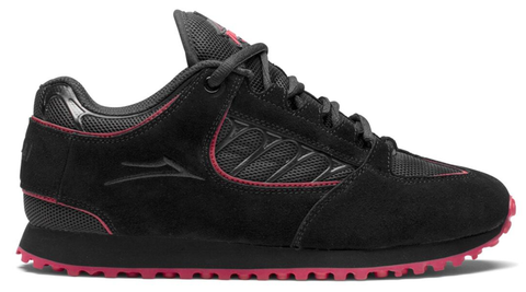 Lakai x  Thrasher Carroll Chiller / Black/ Red  Suede