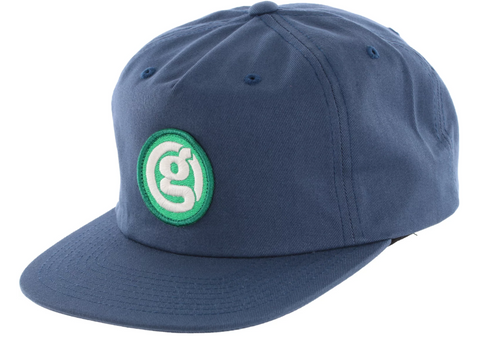 Girl Circle G Snapback Hat / Denim