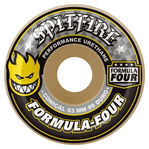 Spitfire Formula Four Conical 99Duro Wheels 54mm