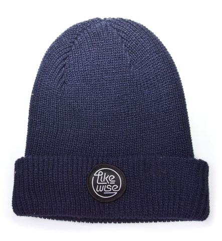 Likewise Solid Neon Beanie / Navy