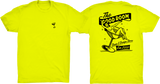 TGR Pin-Up Tee / Neon Yellow