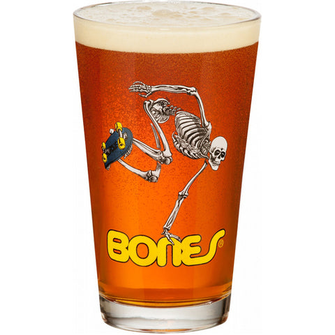 Powell Peralta Skeleton Pint Glass (Single)