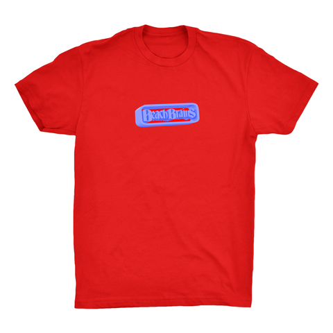 Beach Brains Neon Future Tee / Red