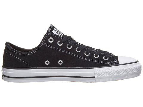 CONS CTAS Pro Low (New Zoom Air Version) / Black Suede / White