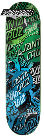 Santa Cruz Classic Collage EverSlick Deck 8.25""