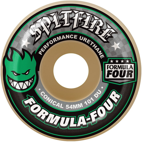 Spitfire F4 Conical 101 Duro Wheels 52mm