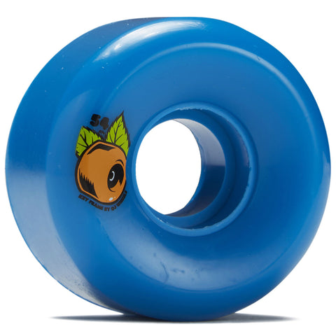 OJ Key Frames Blue 87a Cruiser Wheels 54mm