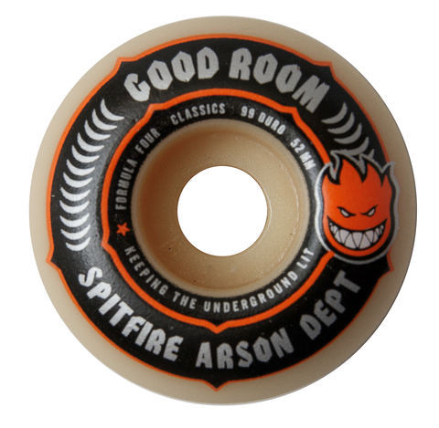 Spitfire X The Good Room Formula Four Wheels 54mm