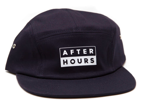 AfterHours 50/50 5 Panel Hat / Navy