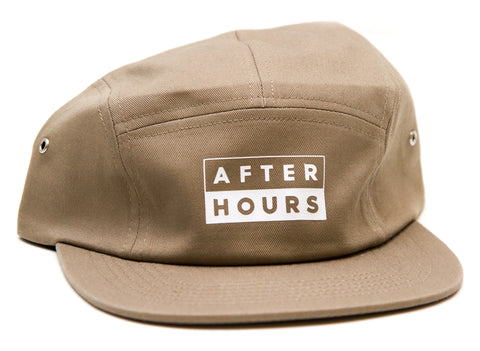 AfterHours 50/50 5 Panel Hat / Khaki