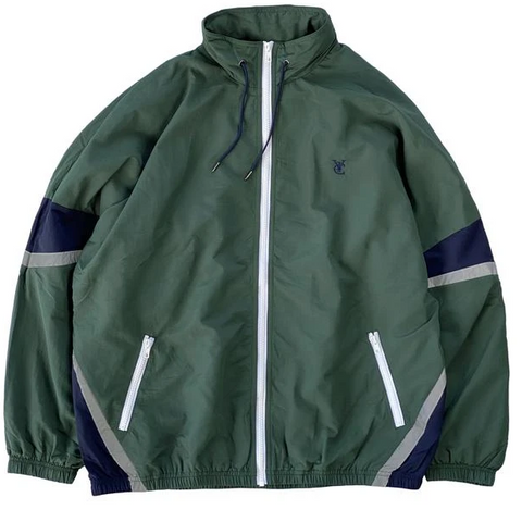 Vic Feather Track Jacket / Forest Green