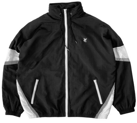 Vic Feather Track Jacket / Black