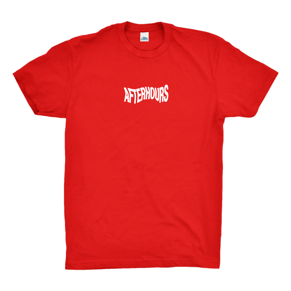 AfterHours Wave Tee / Red