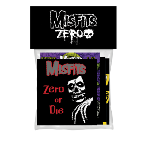 Zero x Misfits Sticker 4 Pack
