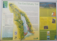 Map of the Exe Estuary