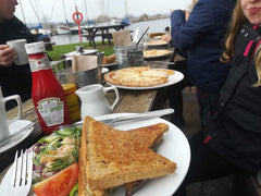 Toasted sandwiches and pizza at The Turf