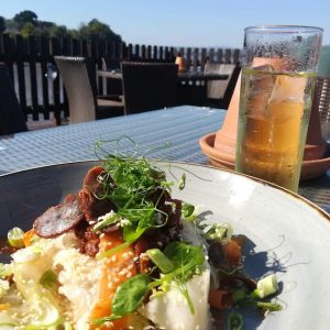 Coombe Cellars Food