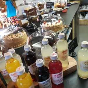 Cakes and bakes at Ullacombe Farm