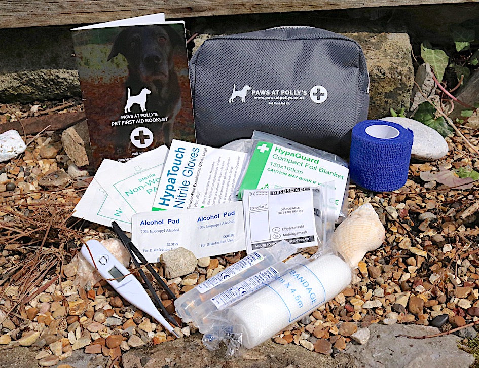 First Aid Kit for Dogs Contents